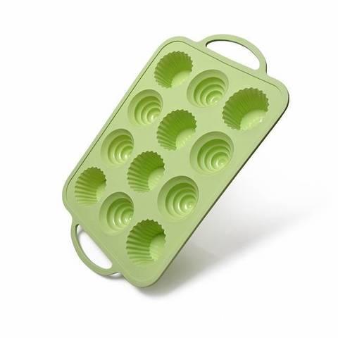 6575 FISSMAN Форма для выпечки 12 кексов/ 37x23x4 см, силикон,  купить