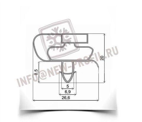 Уплотнитель для холодильника Атлант ХМ-4012-000 КШД 320/115 м.к. 680*560 мм(021)