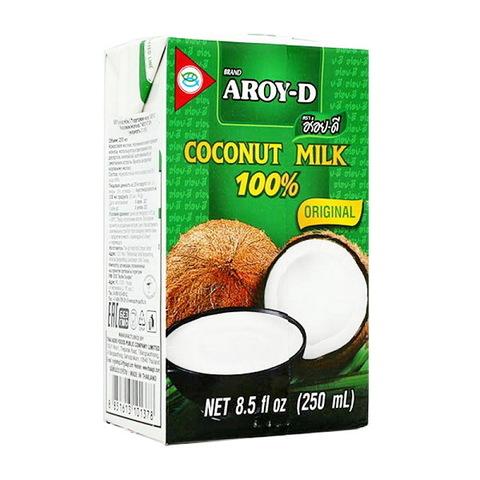 Молоко кокосовое Aroy-D, (250мл)