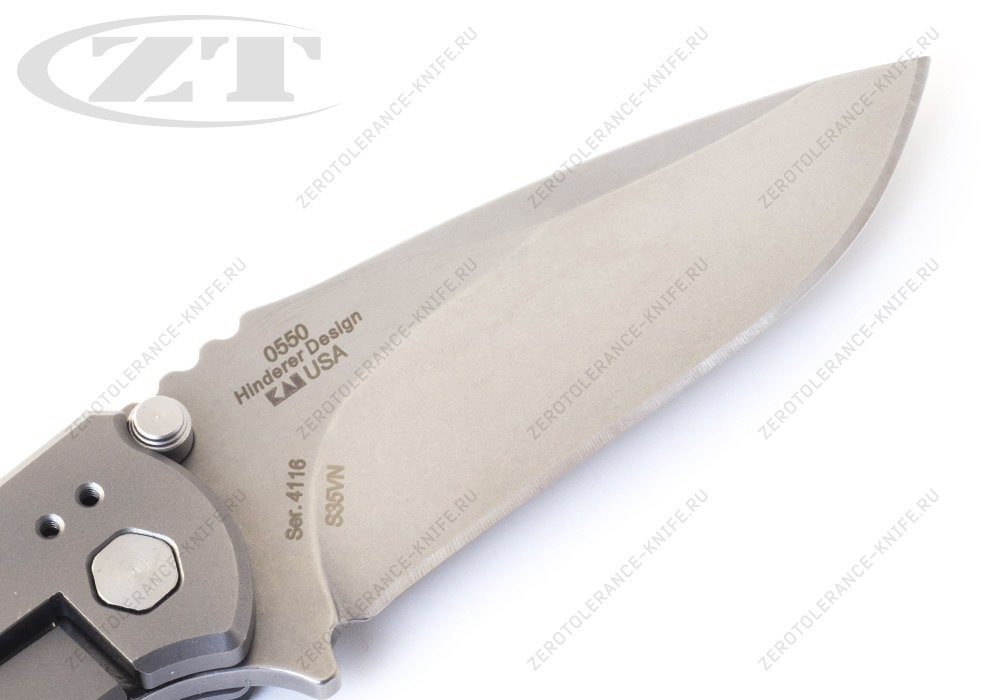 Нож Zero Tolerance 0550 GEN2 HINDERER - фотография