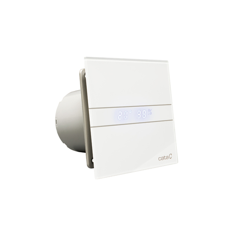 Накладной вентилятор Cata E 150 GTH (Влажность, таймер, термометр, дисплей)