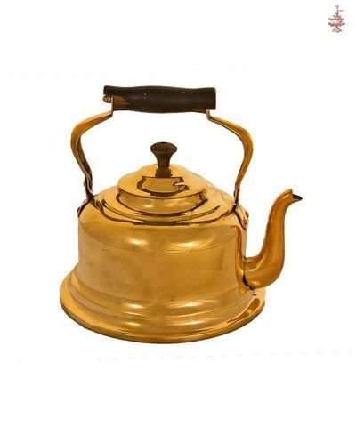 Чайник антикварный Кольчугинский латунь