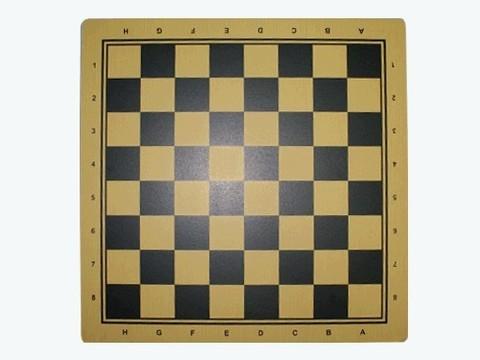 Доска ламинированная для шашек и шахмат. Размер 30х30 см. Материал: прессованный картон. :(Q30х30):