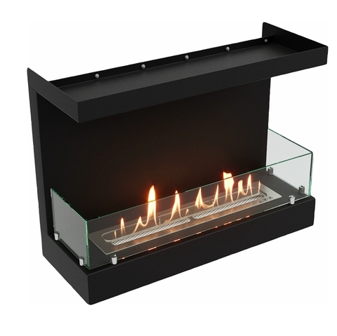 Торцевой биокамин Lux Fire Фронтальный 640 S