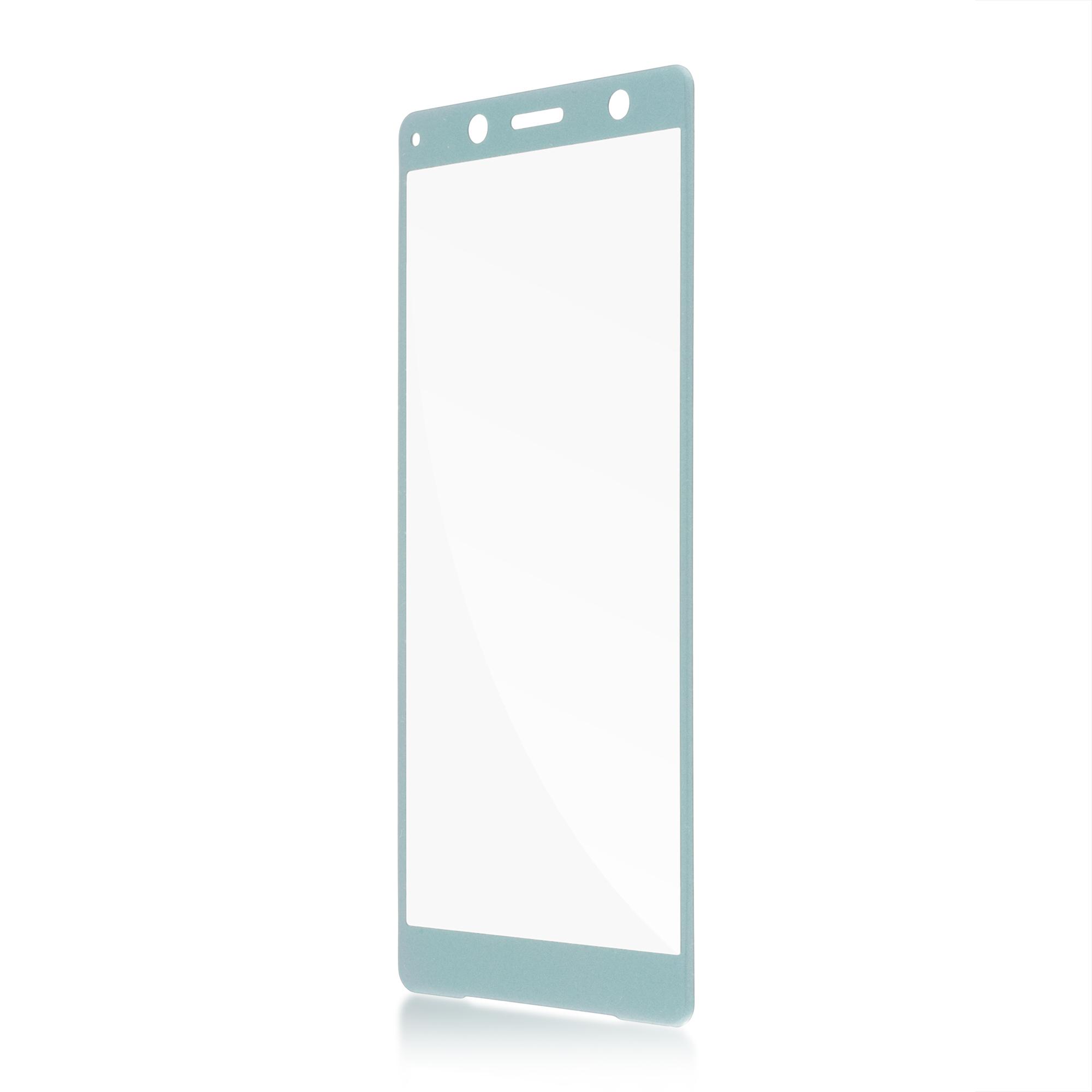 Защитное стекло для Xperia XZ2 Compact зелёного цвета