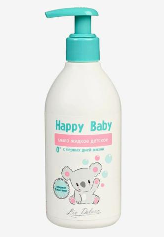 Liv delano Happy Baby Мыло жидкое детское с первых дней жизни 300г