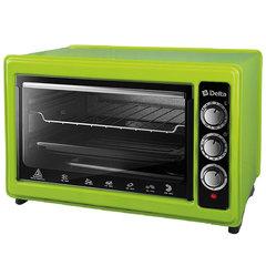 Мини печь   Духовка электрическая 1300 Вт 37 л DELTA D-0123 зеленая