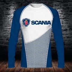 Толстовка 3D принт, Scania (3Д Свитшот Скания)