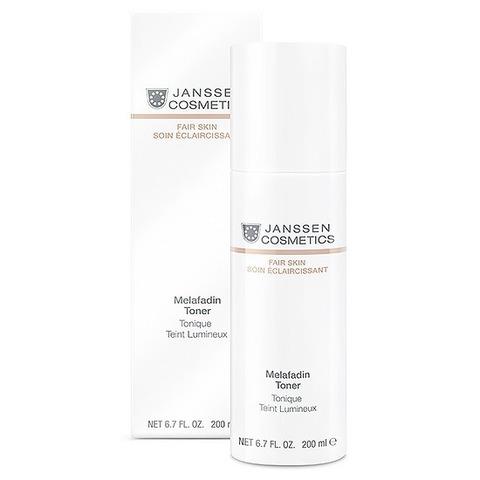 Осветляющий тоник для всех типов кожи Melafadin Toner, Fair skin, Janssen Cosmetics,  100 мл