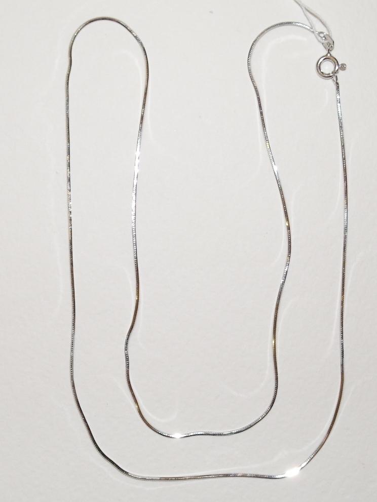 Снейк восьмигранный (серебряная цепочка)