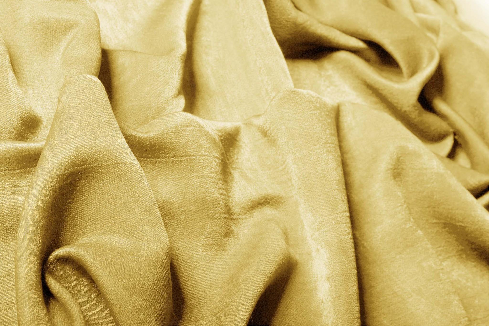 Suede (золото). Готовая штора - имитация замши