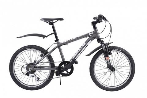 детский велосипед Corto CUB 2020 серый