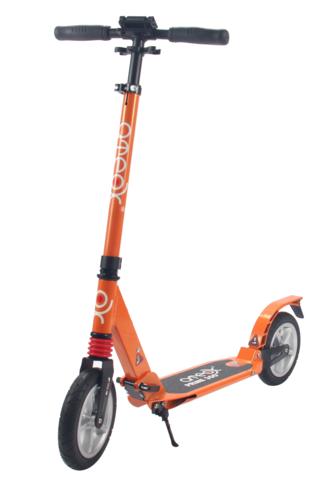 Самокат для взрослых Аteox Prime 300 с надувными колесами (оранжевый)