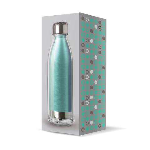 Бутылка Asobu Viva La Vie (0,54 литра), синяя