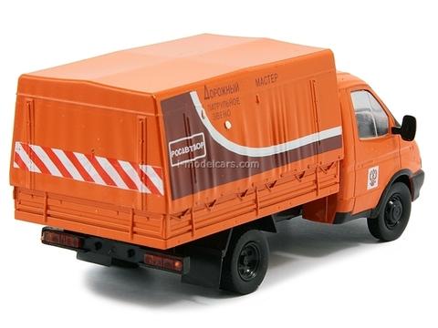 GAZ-3302 Gazelle Road Service Russia 1:43 DeAgostini Service Vehicle #42