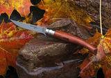 Нож складной филейный Opinel №15 VRI Folding Slim Bubinga