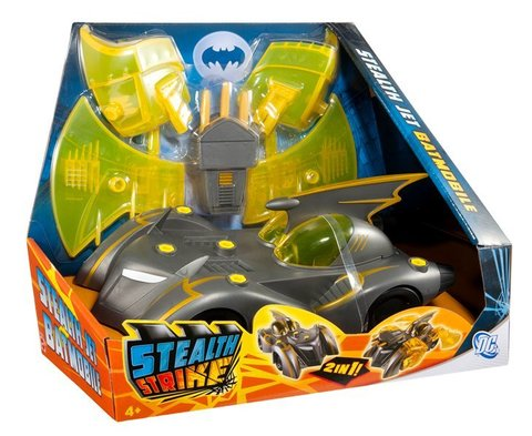 Stealth Strike Stealth Jet Batmobile