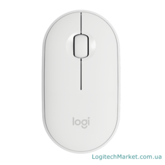 LOGITECH M350 Pebble Off-White [910-005716]