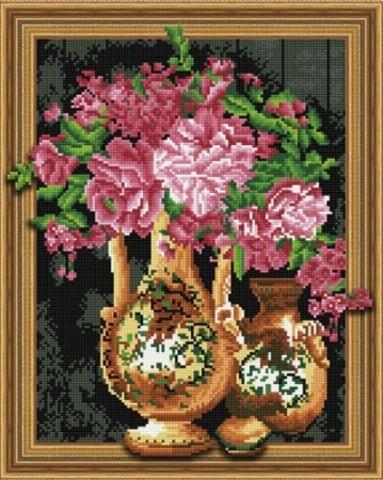 Алмазная Мозаика 5D Цветы в вазах (арт. LTH0421)