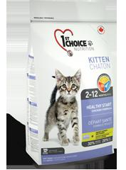 Корм для котят, 1st Choice Здоровый Старт, с цыпленком