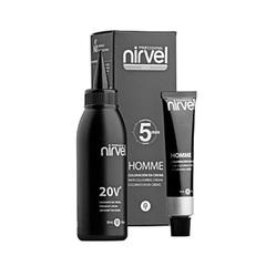 NIRVEL ct-7 (light chestnut) - краситель для волос мужской светло-каштановый 30+30
