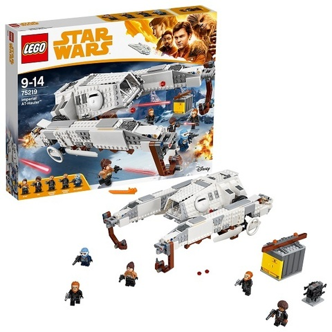 LEGO Star Wars: Имперский шагоход-тягач 75219 — Imperial AT-Hauler — Лего Звездные войны Стар Ворз