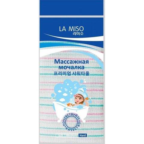 Массажная мочалка Жесткая  La Miso