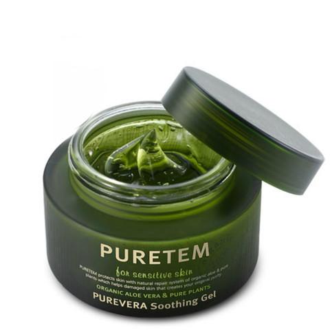 WELCOS Puretem Гель смягчающий с экстрактом алоэ вера Puretem Purevera Soothing Gel