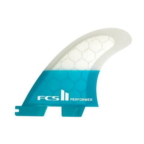 Плавники FCS II Performer PC Teal, компл. из трех, М