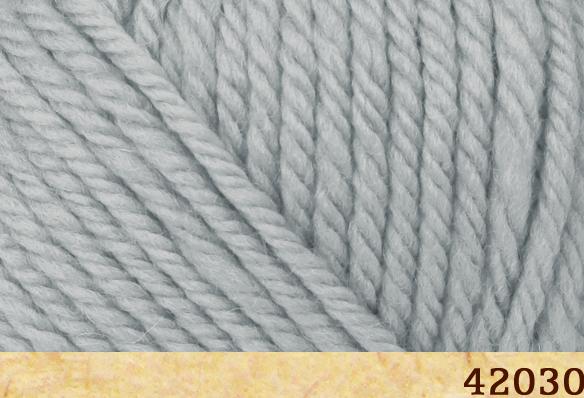 Пряжа FibraNatura Lima 42030 светло-серый