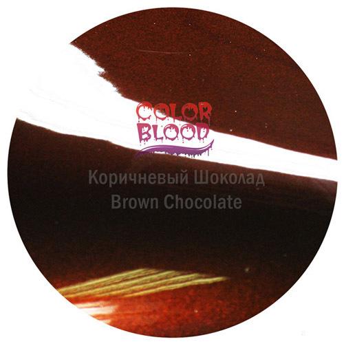 Color Blood (Bugtone) Краска Color Blood Brown Chocolate базовая прозрачная (кенди) Коричневый шоколад, 50мл CB-3871-50.jpg