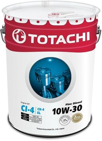 Fine Diesel 10W-30 TOTACHI масло минеральное дизельное моторное (20 Литров)
