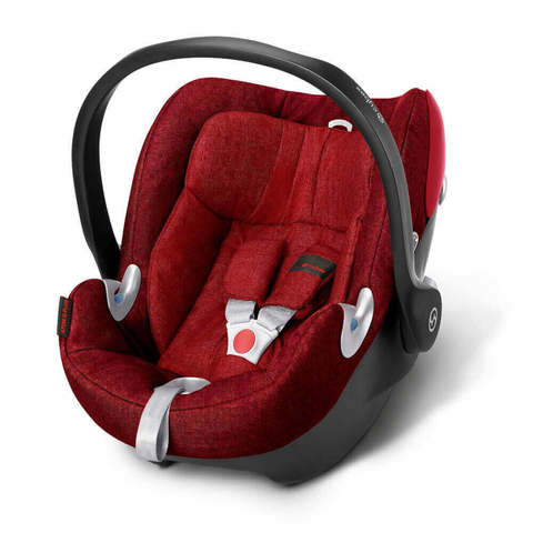 Автокресло Cybex Aton Q Plus Mars Red