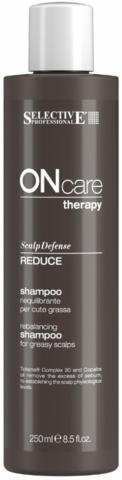 Шампунь восстанавливающий баланс жирной кожи головы,Selective Oncare Rebalance,1000 мл.