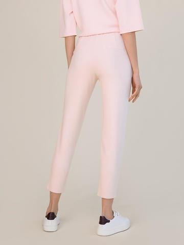 Женские брюки светло-розового цвета из вискозы - фото 3