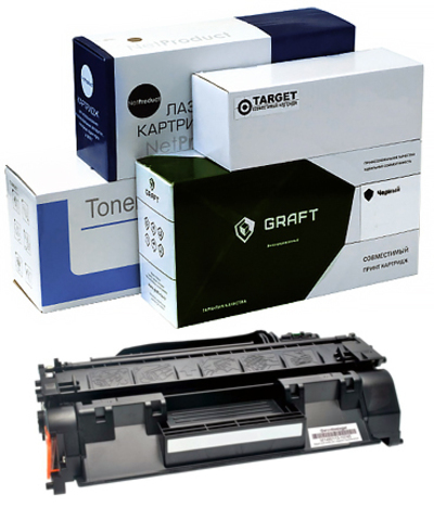 Картридж CE505A/CF280A/Cartridge 719 OEM