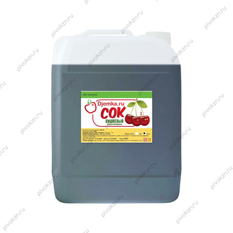 Концентрированный сок «Вишня» 25 кг