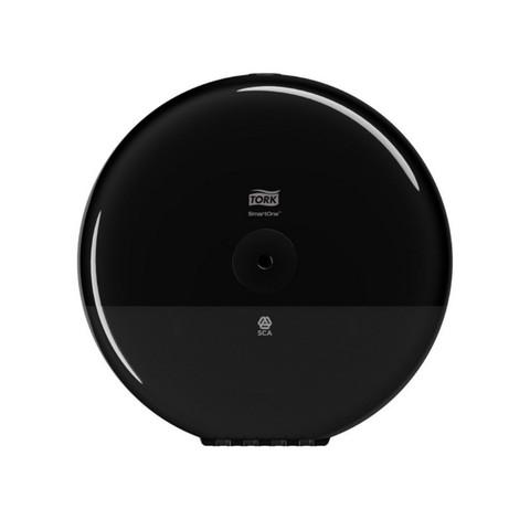 Диспенсер для туалетной бумаги в рулонах Tork SmartOne Elevation T8 680008 пластиковый черный