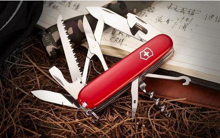 Складной нож Victorinox Huntsman (1.3713) 91 мм., 15 функций - Wenger-Victorinox.Ru