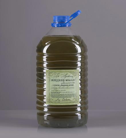 Liv delano The Apothecary Жидкое мыло деликатное с экстрактами лекарственных растений имбиря, конского каштана, алоэ вера и мяты 5000г