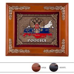 """Ключница настенная деревянная """"Россия"""""""