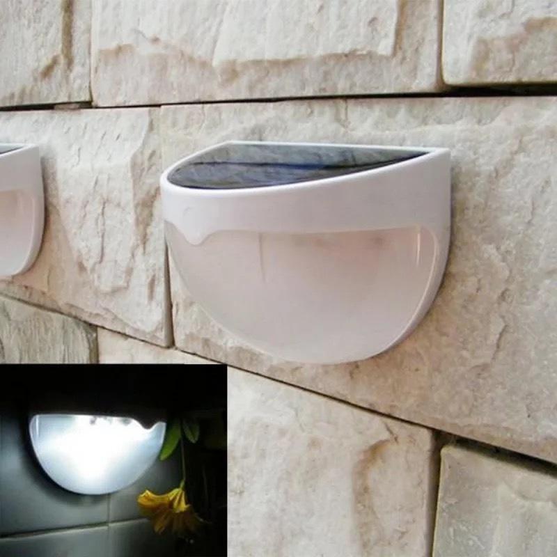 Уличный ночник Светлячок на солнечной батарее настенный фото
