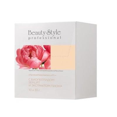 Маска альгинатная Lift++ с биопептидом Sepilift и экстрактом пиона Beauty Style 10шт