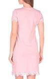 Ночная сорочка для беременных и кормящих 09911 лиловый