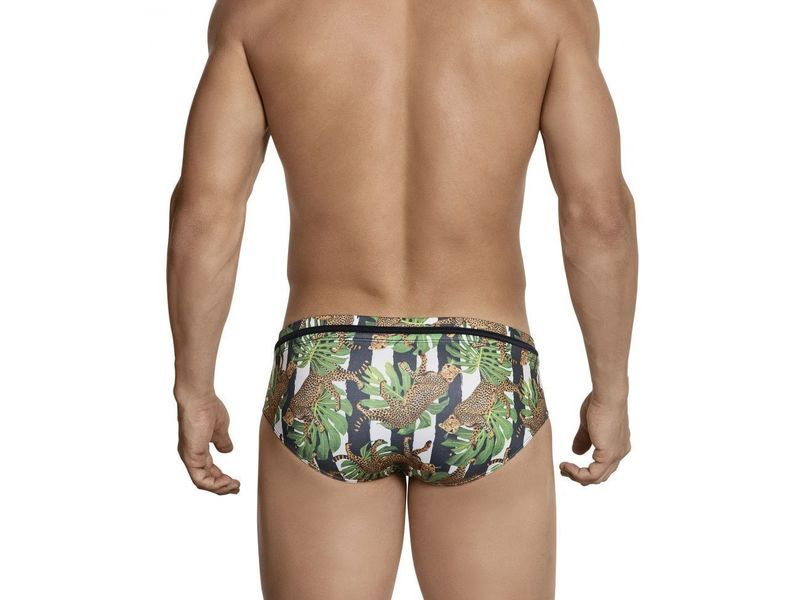 Мужские плавки зеленые Clever Emiliano Swimsuit Brief 069010