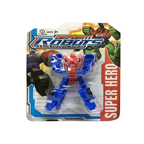 Трансформер-Робот Warriors на карт., 47251, 1кор*1бл*10шт