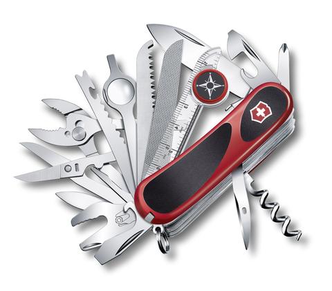 Нож Victorinox EvoGrip S54, 85 мм, 31 функция, красный с черным123