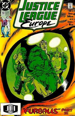 Justice League Europe #13