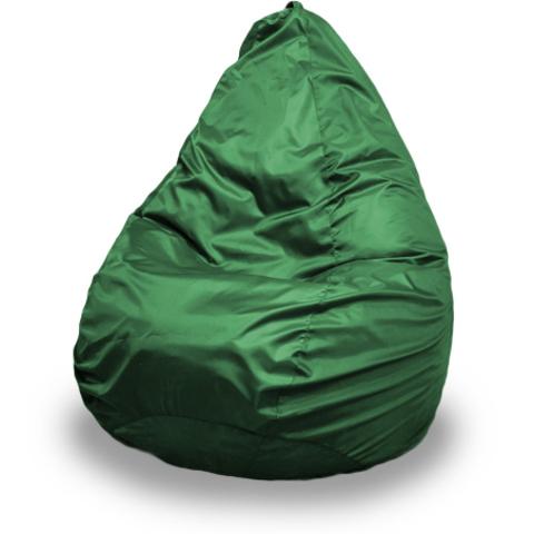 Бескаркасное кресло «Груша» XXL, Зеленый