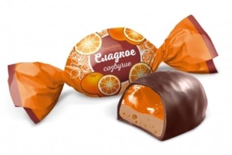 Конфеты «Сладкое созвучие» Апельсин с шоколадом 220г